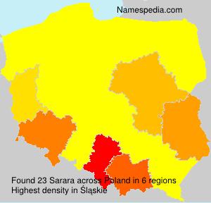 Surname Sarara in Poland