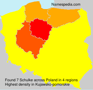 Surname Schulke in Poland