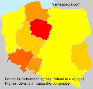Familiennamen Schumann - Poland