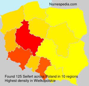 Surname Seifert in Poland