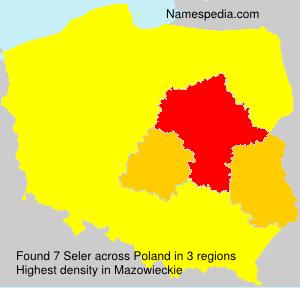 Surname Seler in Poland