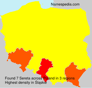Surname Sereta in Poland