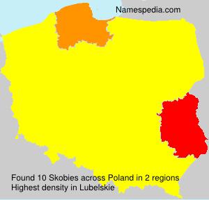Surname Skobies in Poland