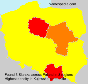 Surname Slarska in Poland