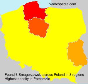 Familiennamen Smagorzewski - Poland