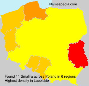 Surname Smalira in Poland