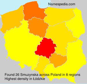 Surname Smuzynska in Poland