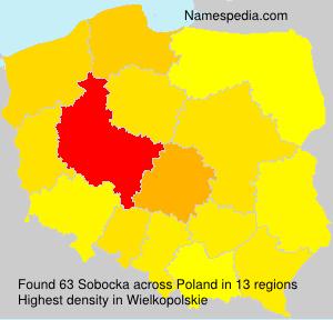 Familiennamen Sobocka - Poland