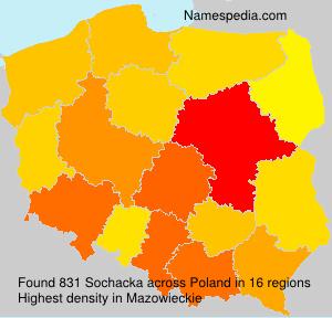 Familiennamen Sochacka - Poland