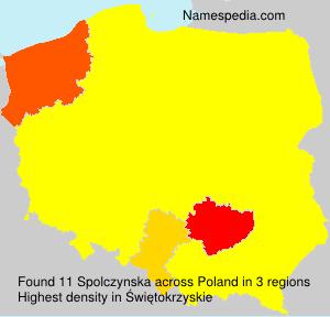 Surname Spolczynska in Poland