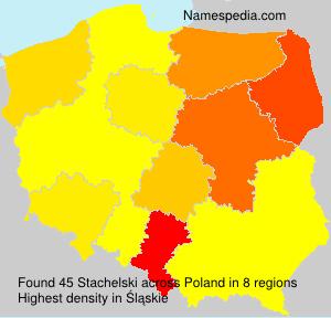 Familiennamen Stachelski - Poland