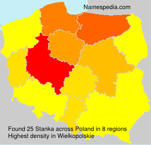 Surname Stanka in Poland