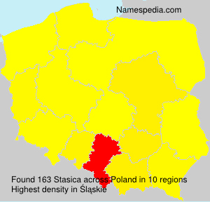 Surname Stasica in Poland