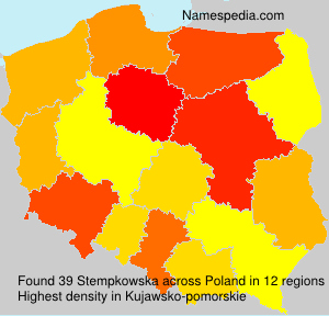 Surname Stempkowska in Poland