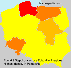 Surname Stepokura in Poland