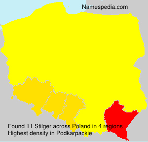 Surname Stilger in Poland