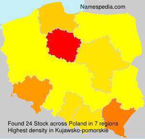 Surname Stock in Poland