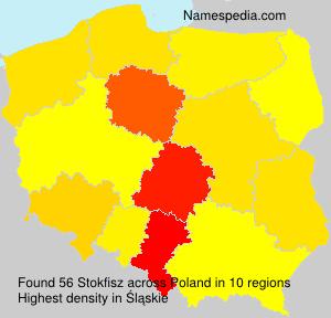 Surname Stokfisz in Poland