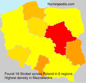 Surname Strobel in Poland
