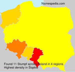Surname Stumpf in Poland