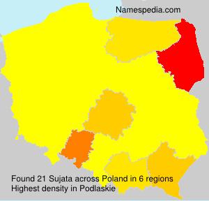 Surname Sujata in Poland