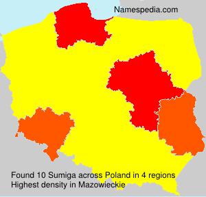 Surname Sumiga in Poland