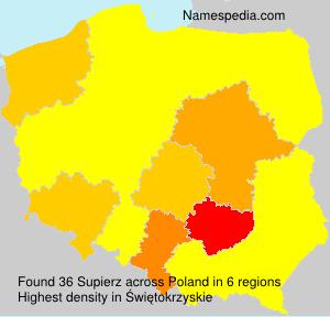 Surname Supierz in Poland