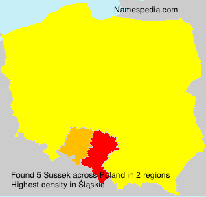 Surname Sussek in Poland