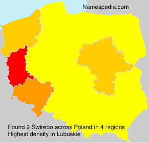 Surname Swirepo in Poland