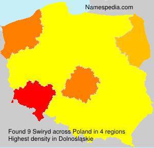 Surname Swiryd in Poland