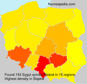 Surname Sygut in Poland
