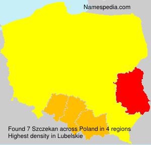 Szczekan