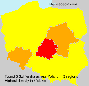 Surname Szlifierska in Poland