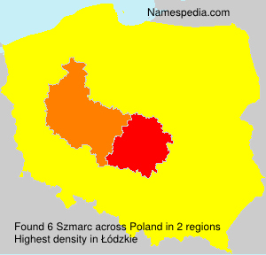 Surname Szmarc in Poland