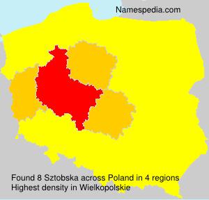Surname Sztobska in Poland