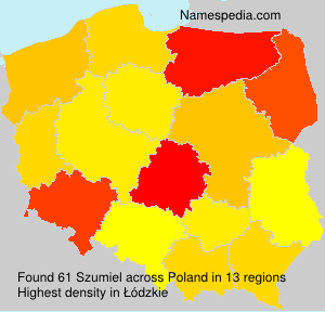 Surname Szumiel in Poland