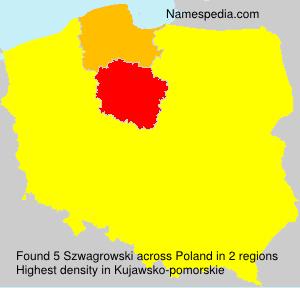 Surname Szwagrowski in Poland