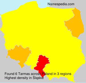 Surname Tarmas in Poland