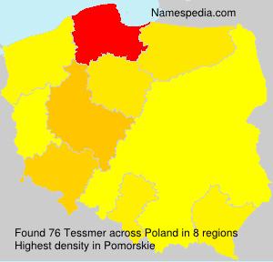 Surname Tessmer in Poland
