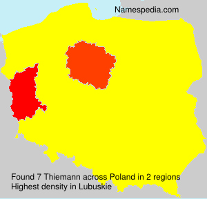 Surname Thiemann in Poland