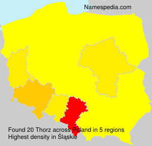 Surname Thorz in Poland