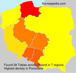 Familiennamen Tobias - Poland