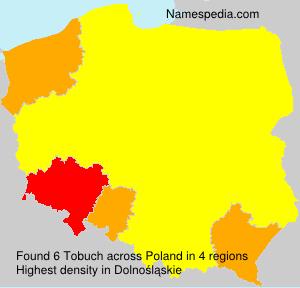 Familiennamen Tobuch - Poland