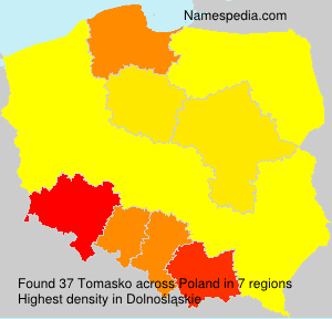 Surname Tomasko in Poland
