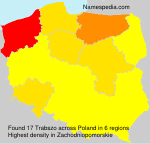 Surname Trabszo in Poland