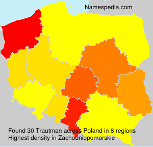 Surname Trautman in Poland