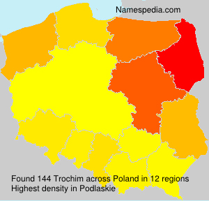 Surname Trochim in Poland
