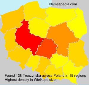 Familiennamen Troczynska - Poland