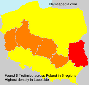 Surname Trofimiec in Poland