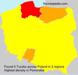 Familiennamen Tuczko - Poland